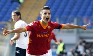 Erik Lamela profited the most of Roma's attacking style